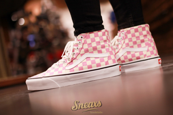 VANS SK8-HI CHECKERBOARD TAPERED (VN0A4U16XHV)