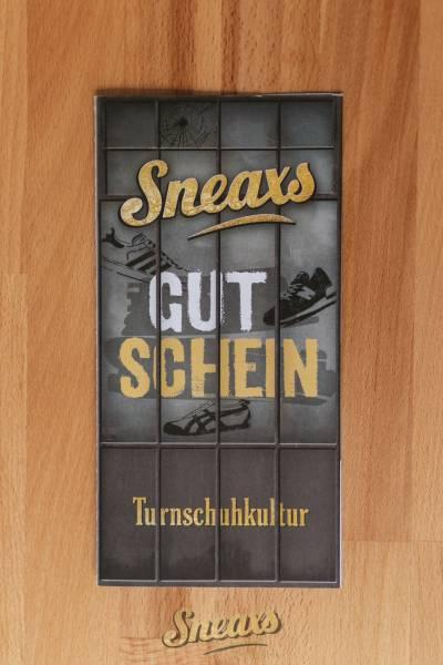 SNEAXS INSTORE GUTSCHEIN 200€
