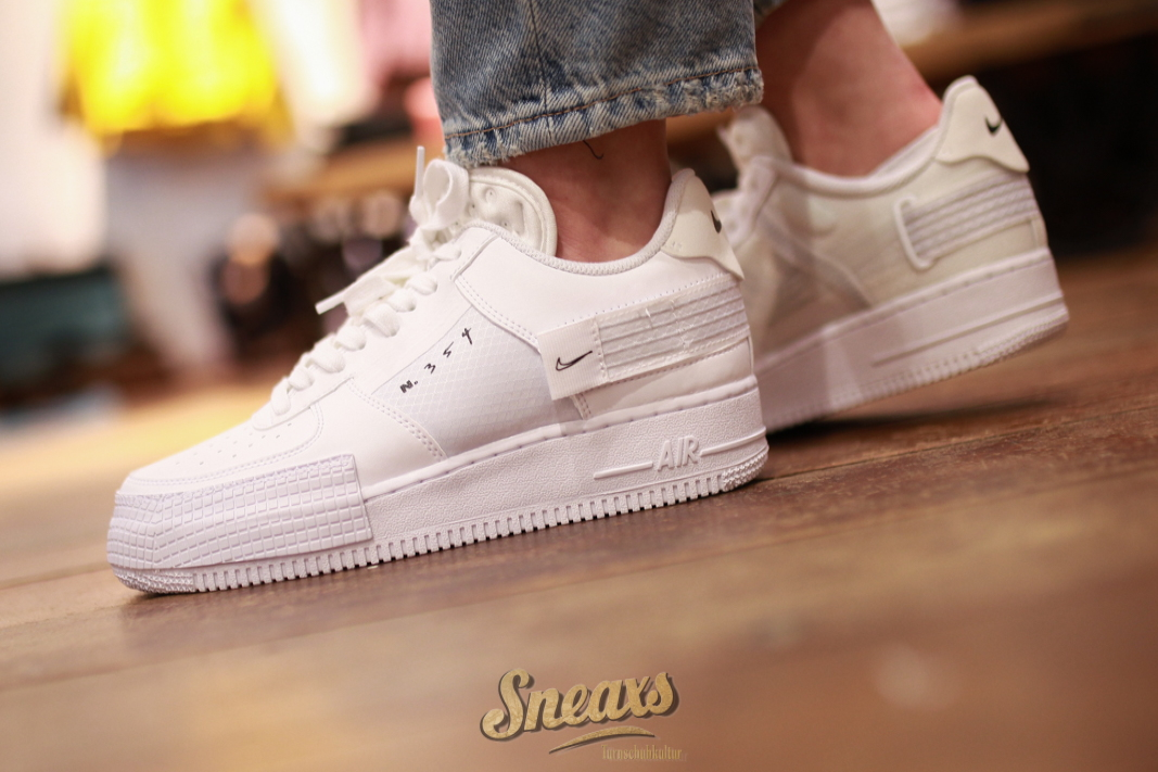 Nike Air Force 1 Type 'White' | CQ2344 101 | Sneakerjagers